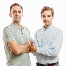 Abothek-Team: Bernhard Moss & Philipp Geymüller (Foto: Bengt Stiller)