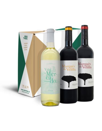 Weinabo-Abothek-Februar-Marques-de-Velilla-Rueda-Ribera-del-Duero-Kistl-Flaschen_web
