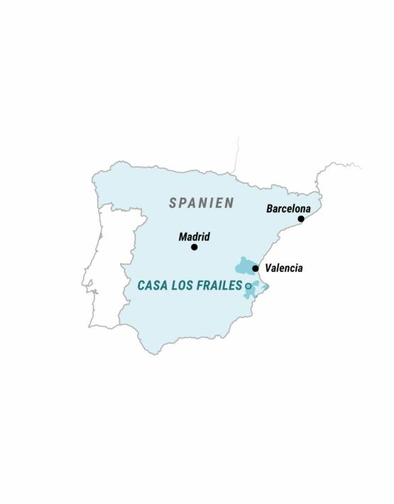 Weinabo-Abothek-Casa-los-Frailes-Valencia-Spanien-Februar-Karte