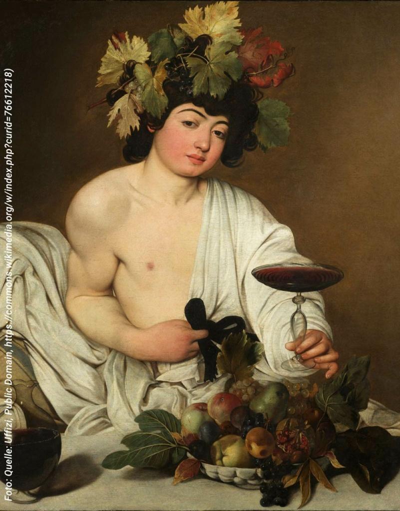 Weinabo-Abothek-Rumaenien-Murfatlar-Domeniul-Bogdan-Muscat-Ottonel-2019-Bacchus-Quelle--Uffizi,-Public-Domain